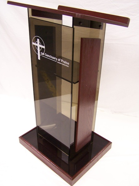 Curtis Products Group Standard Acrylic Podium